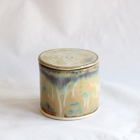 Lidded Pot | Autumn Mist