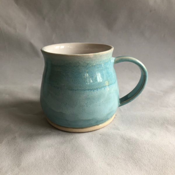Curvy Mug | Glacier Lake Blue