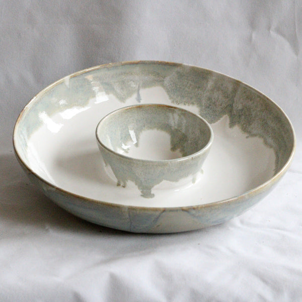 Chip and Dip Bowl | Sea Mist
