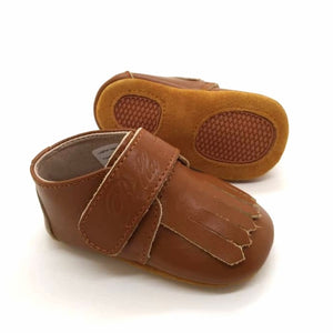 Leather Loafer in Brown (Toddler/Little Kid)