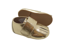 Load image into Gallery viewer, Leather Loafer in Gold (Toddler/Little Kid)