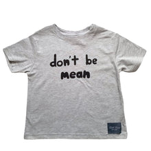 Load image into Gallery viewer, Don't Be Mean T-Shirt - Gray