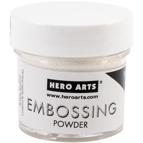 Hero Arts Embossing Powder - White Puff