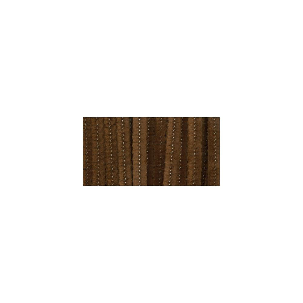 "Chenille Stems 6mmX12"" - 25/Pkg - Brown"