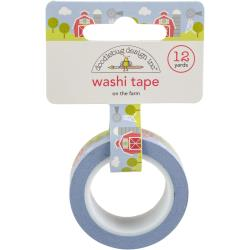 Doodlebug Washi Tape - On The Farm