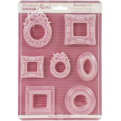 "Stamperia Soft Maxi Mould 8.5""X11.5"" - Frames"