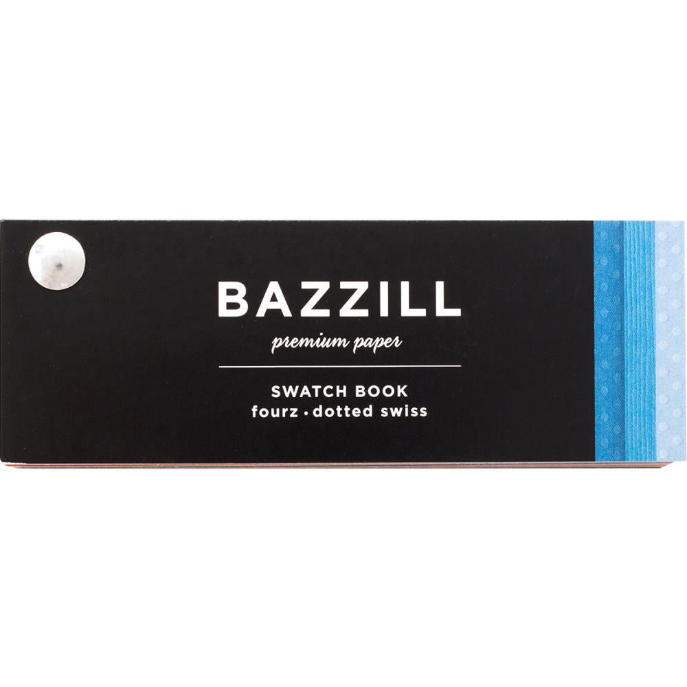 Bazzill  Cardstock Swatchbook - Fourz & Dotted Swiss