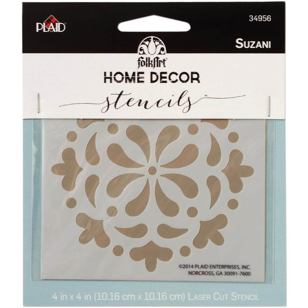 FolkArt Home Decor Stencil - Suzani