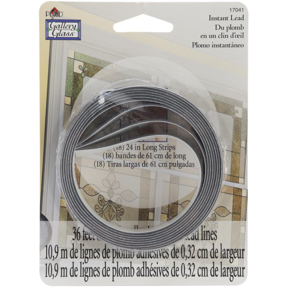"Gallery Glass Instant Lead Lines 24"" - 8/Pkg"