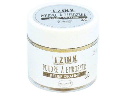 Aladine - EMBOSSING POWDER 25 ML - OPALINE