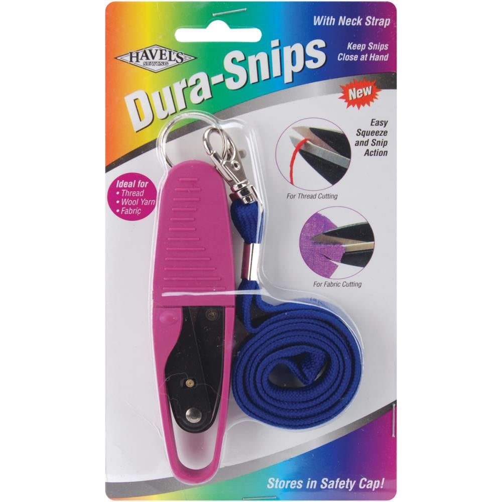 Havel's Dura Snips Squeeze-Style Thread Snips 4.75""