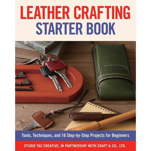 Leather Crafting Starter Book - Fox Chapel Publishing