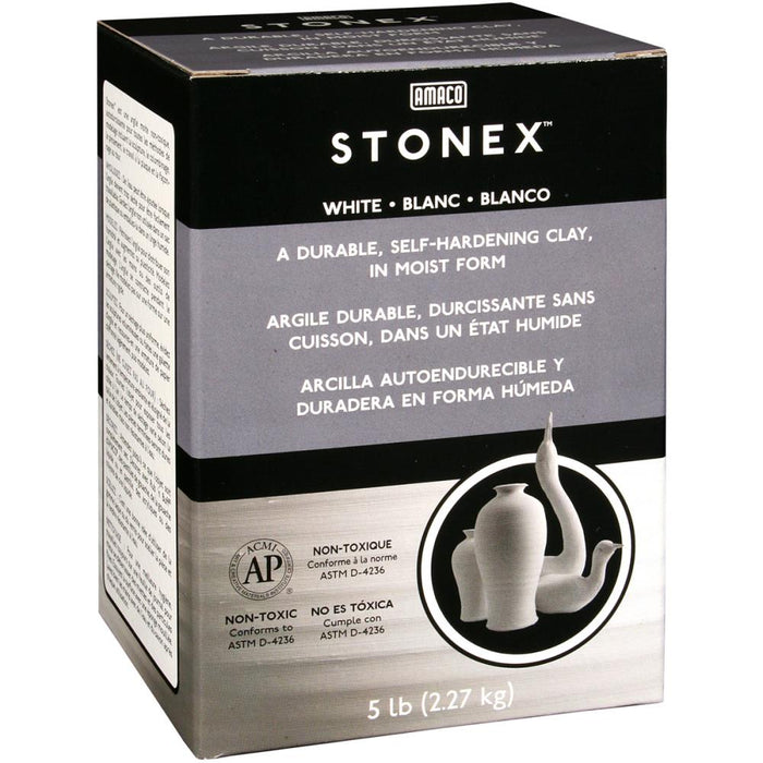 Stonex Self-Hardening Clay 5lb - White