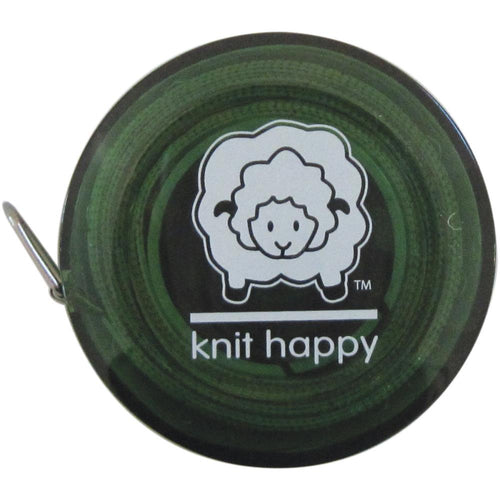 "Knit Happy Tape Measure 60"" - Green"
