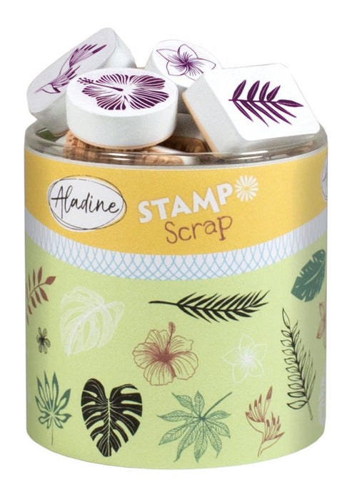 Aladine STAMPO SCRAP - JUNGLE