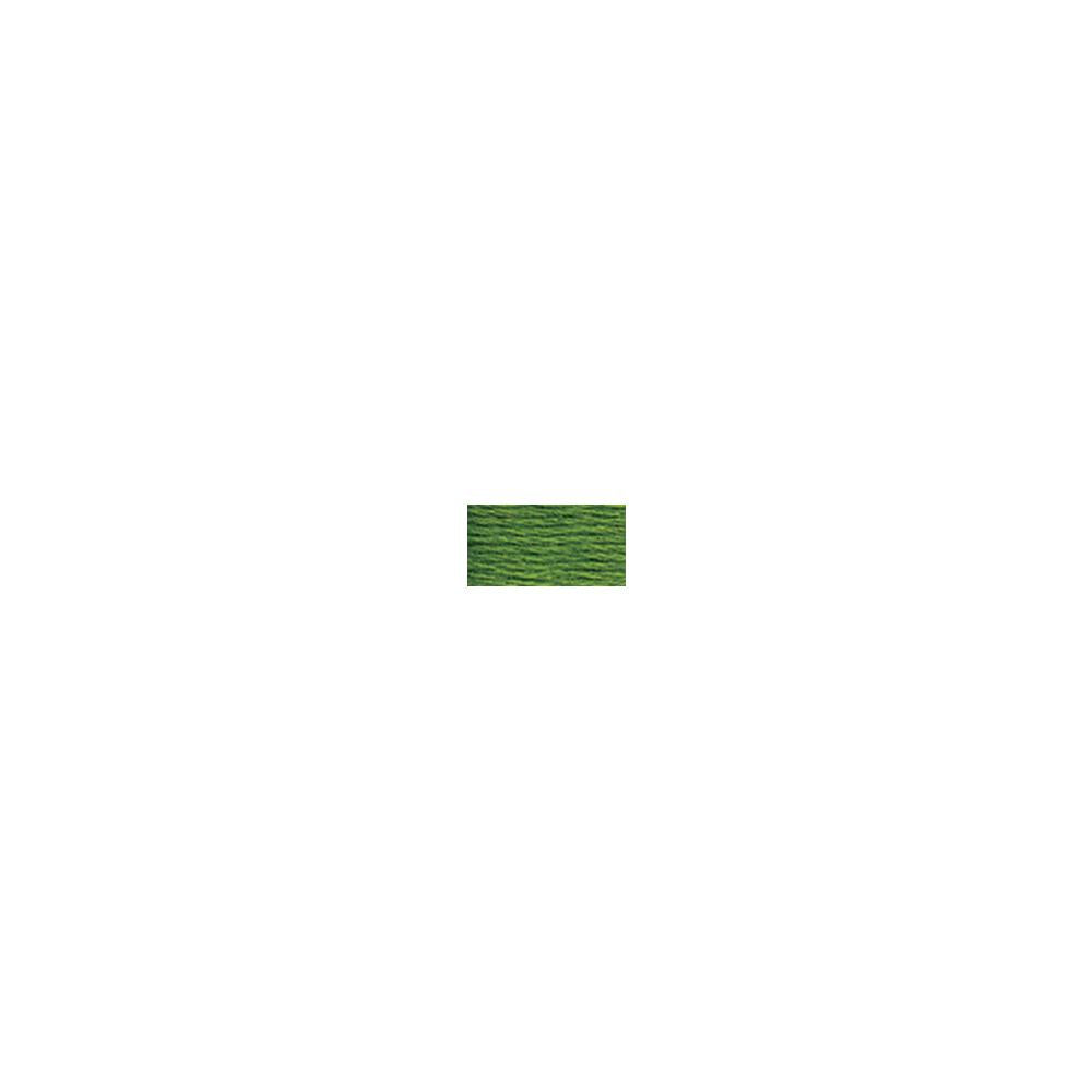 DMC 6-Strand Embroidery Cotton 8.7yd - Dark Parrot Green