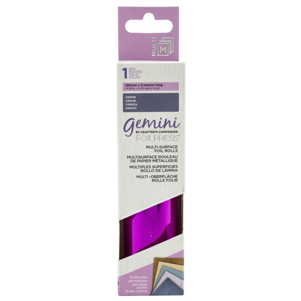 Gemini FoilPress Multi Surface Foil Roll - Cerise