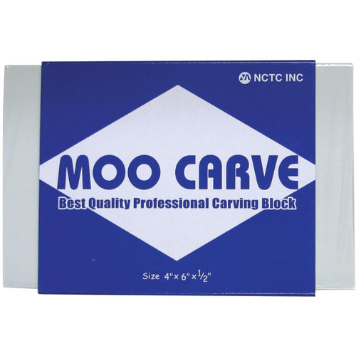 "Moo Carving Block - 4""X6""X.5"""