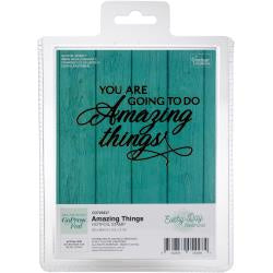 "Couture Creations Every Day Sentiments Hotfoil Stamp - Amazing Things 3.5""X2.3"""