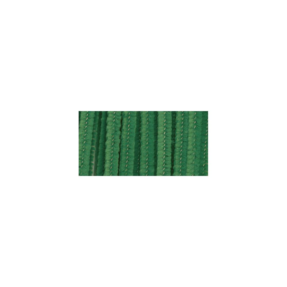 "Chenille Stems 6mmX12"" - 25/Pkg - Emerald Green"