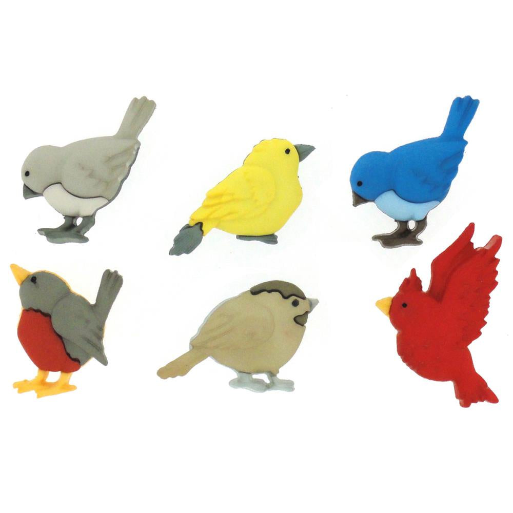 Dress It Up Embellishments - Feathered Friends