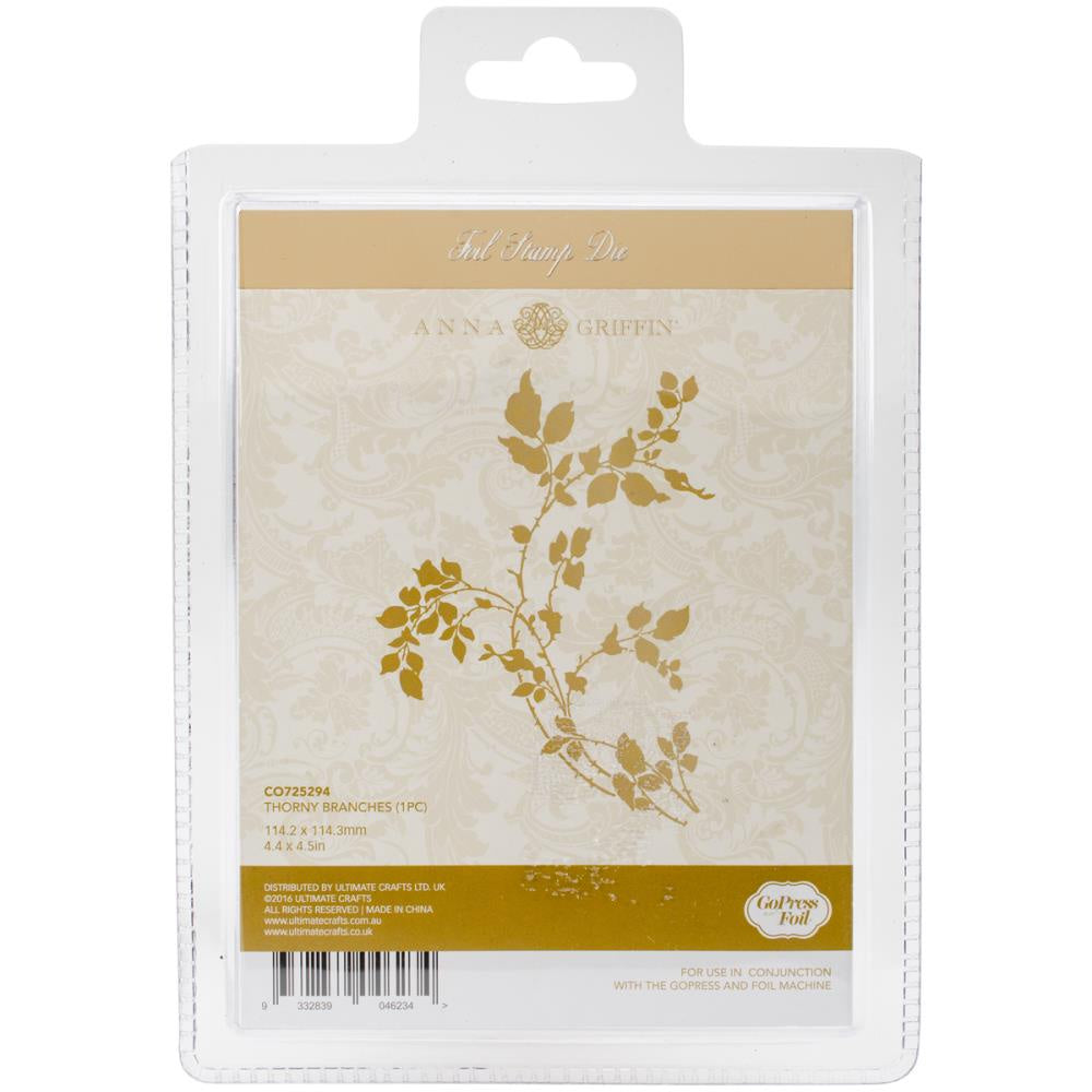 Couture Creations Anna Griffin Hotfoil Stamp - Thorny Branches