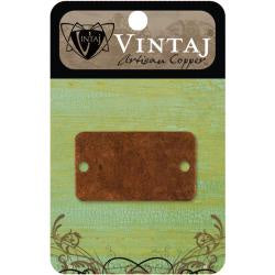 Vintaj Metal Altered Blank Rectangle Bracelet - 1/Pkg