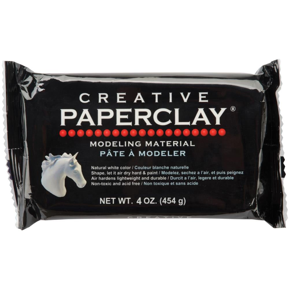 Creative Paperclay 4oz - White