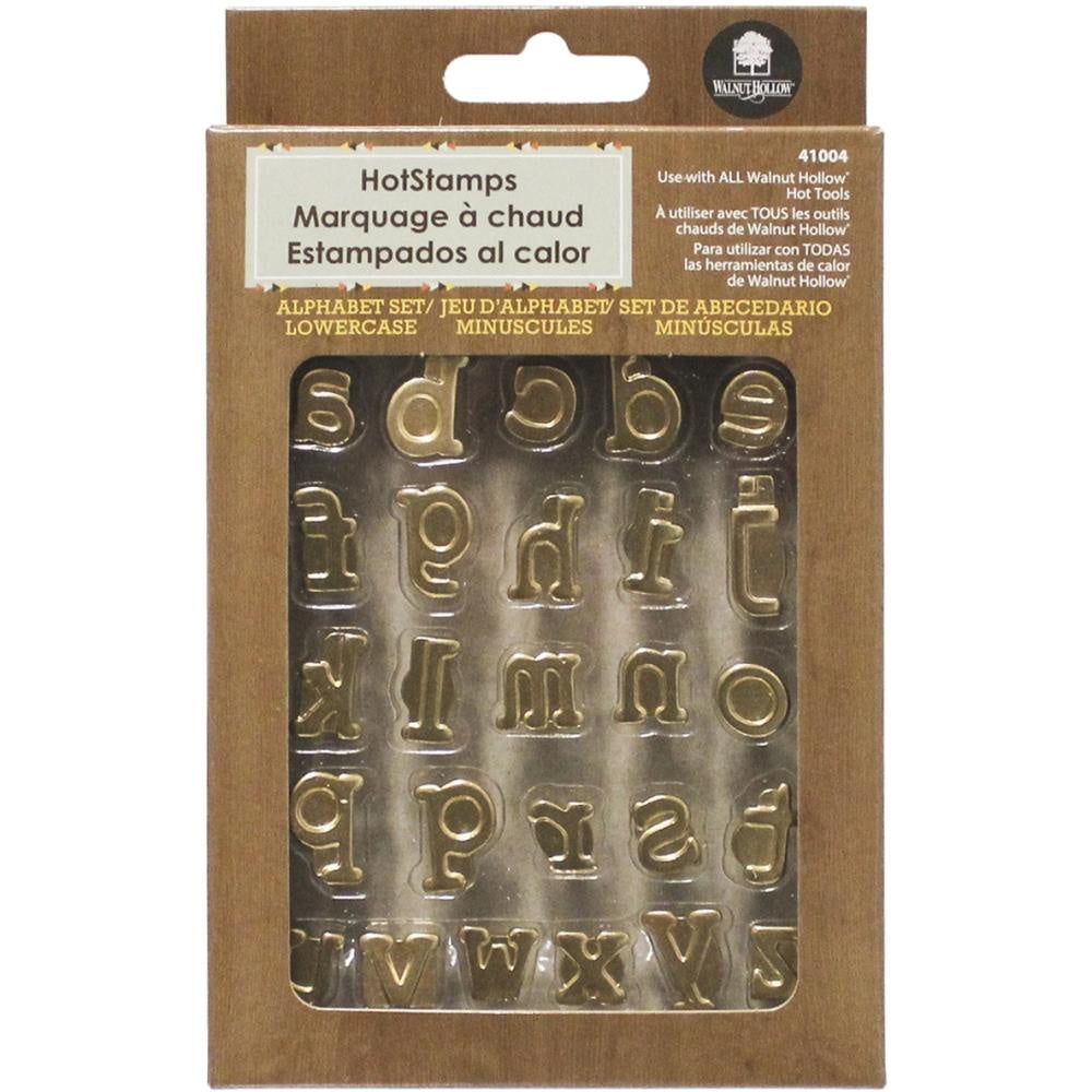 Hot Stamps Alphabet Set 26/Pkg - Lower Case