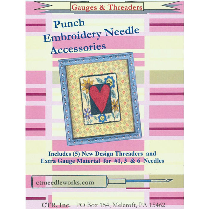 CTR Needleworks Punch Embroidery Set - 5 pkg