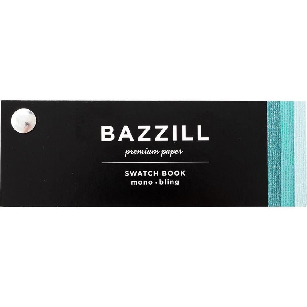 Bazzill 2018 Cardstock Swatchbook - Mono & Bling