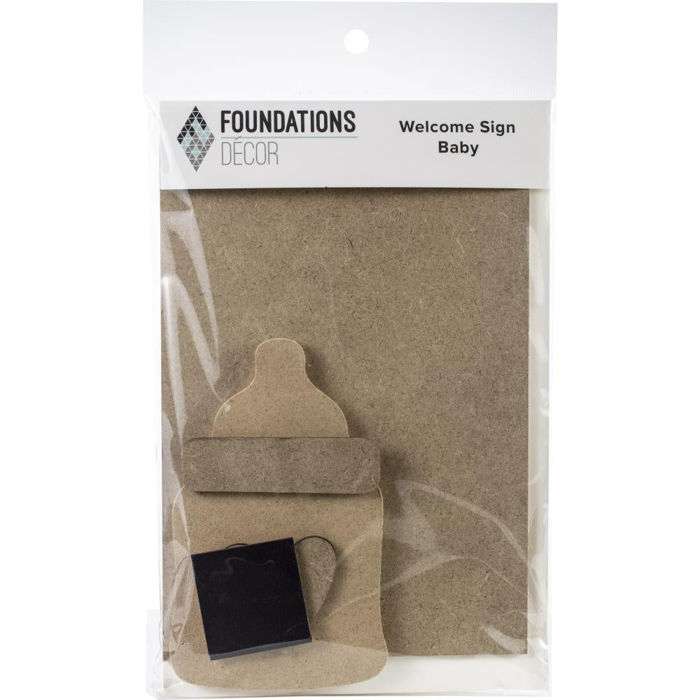 Foundations Decor Welcome Sign Kits - Baby