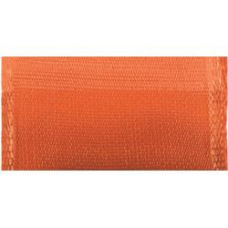 "Offray Wired Bistro Ribbon 1-1/2""X9' - Indian Orange"