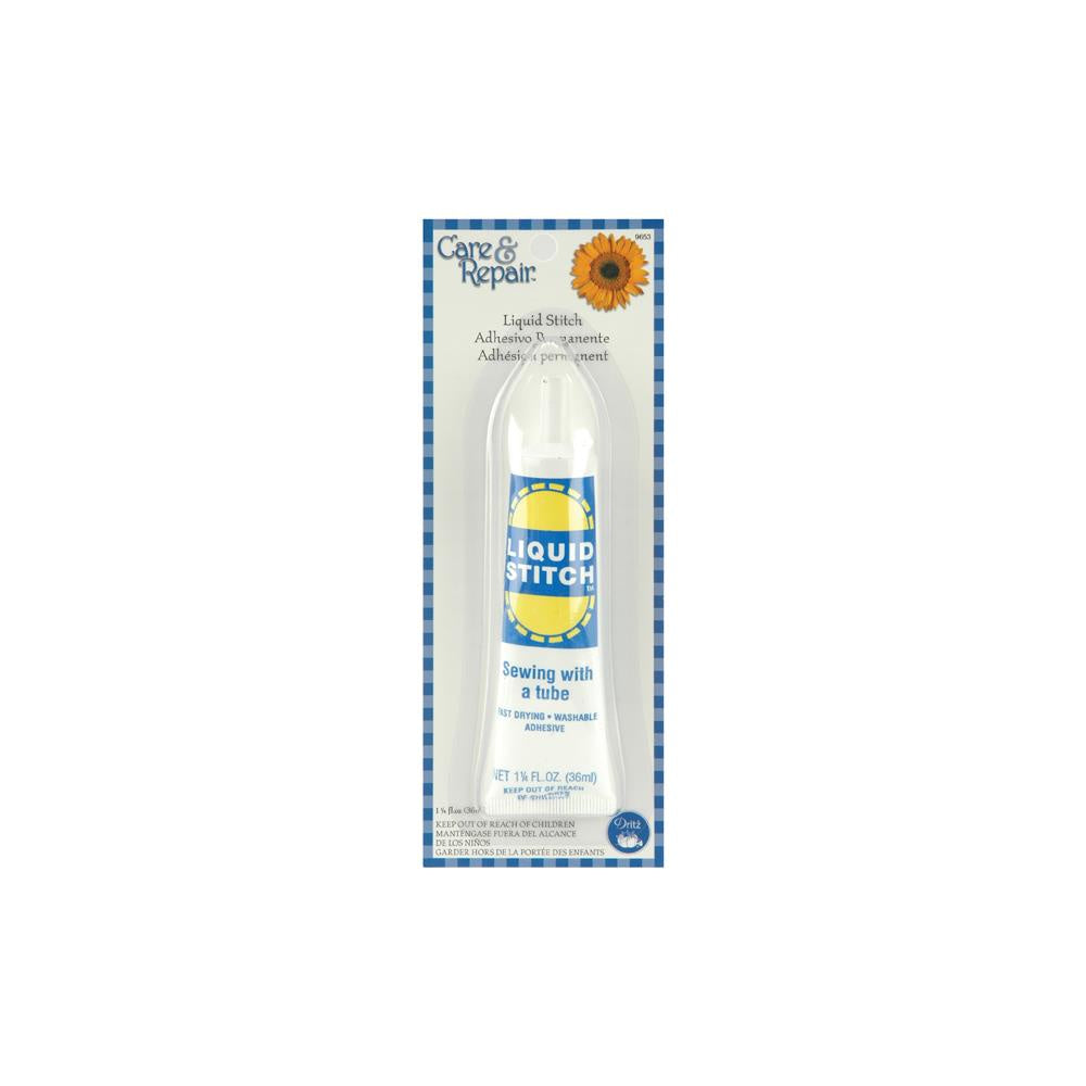 Dritz Care & Repair No-Sew Fabric Glue 1.25oz