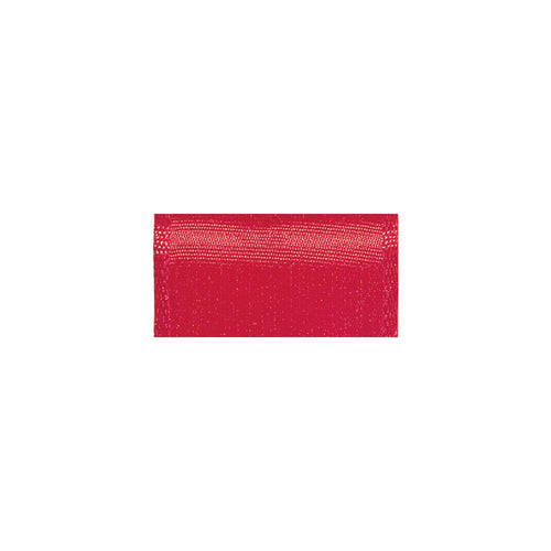 "Offray Wired Bistro Ribbon 1-1/2""X9' - Red"