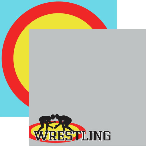 "Wrestling Double-Sided Cardstock 12""X12"" - #2"