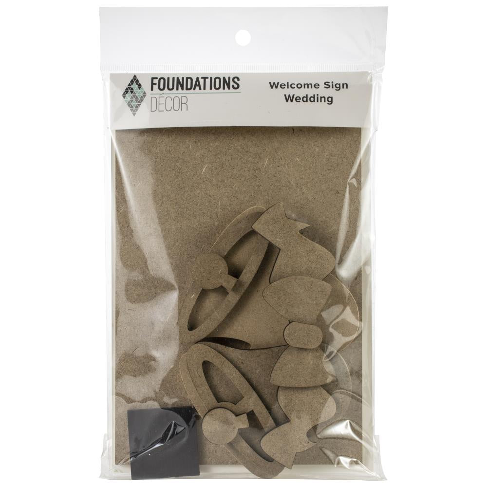 Foundations Decor Welcome Sign Kits - Wedding