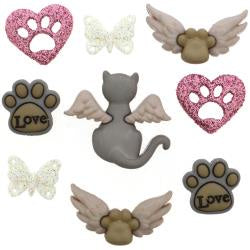 Dress It Up Embellishments - My Purrfect Angel