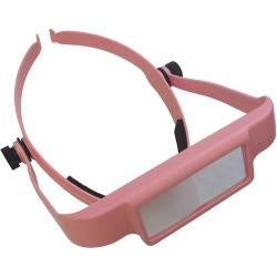 Donegan OptiSIGHT Magnifying Visor - Pink