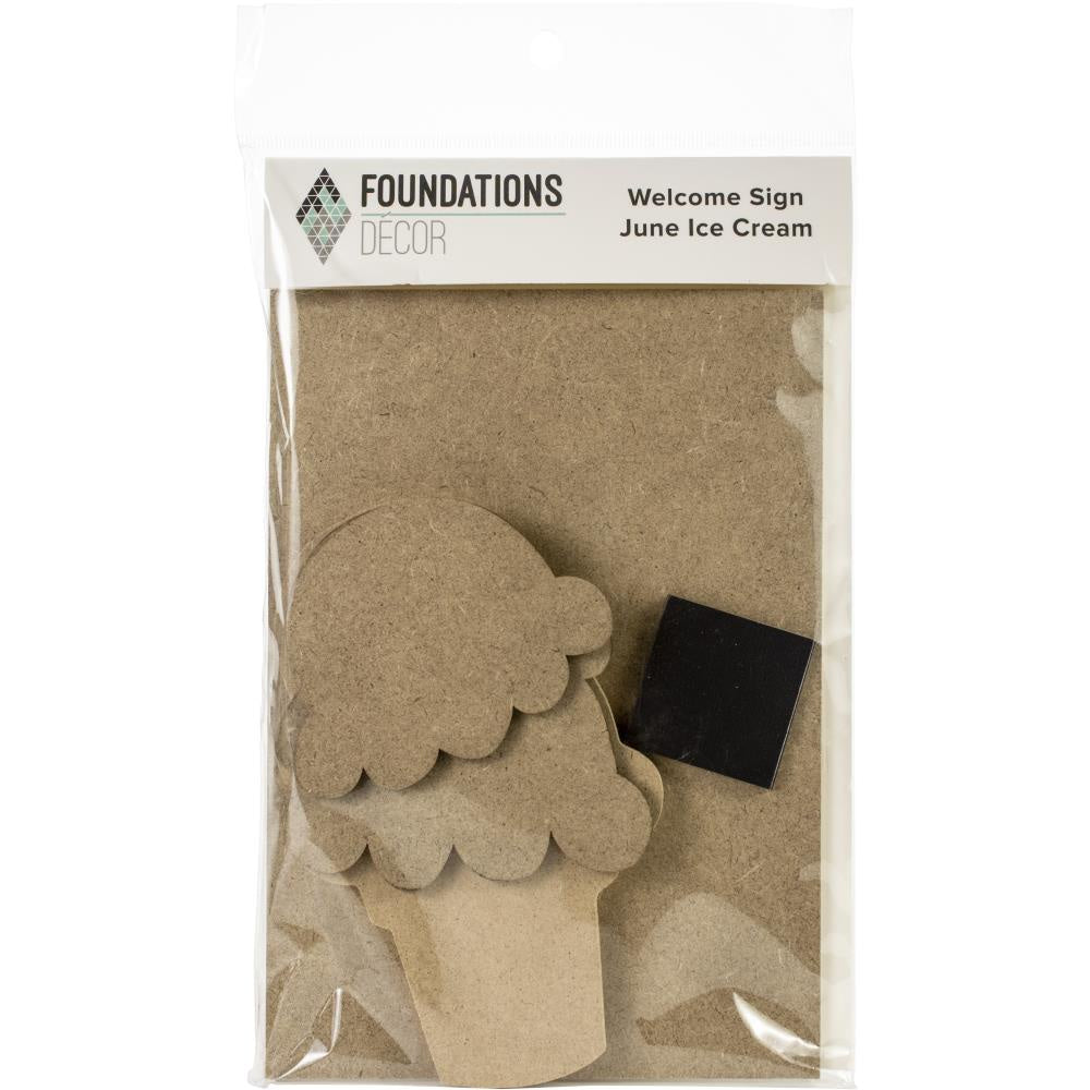 Foundations Decor Welcome Sign Kits - June