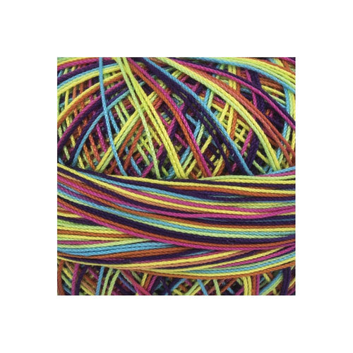 Handy Hands Lizbeth Cordonnet Cotton Size 40 - Rainbow Splash