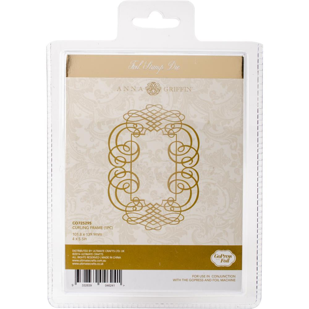 Couture Creations Anna Griffin Hotfoil Stamp - Curling Frame