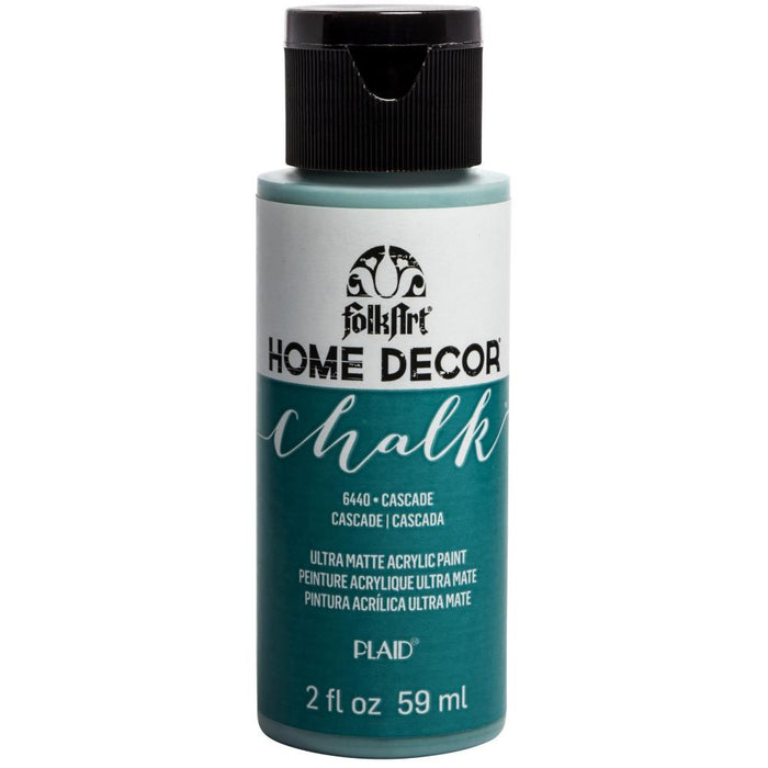 FolkArt Home Decor Chalk Paint 2oz - Cascade