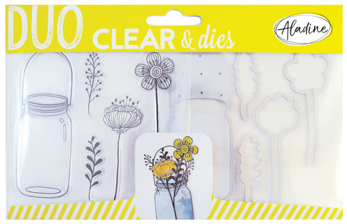 DUO CLEAR + DIE CUT - JAR