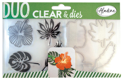 Aladine - DUO CLEAR + DIE CUT - TROPICAL