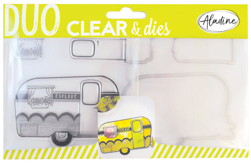 DUO CLEAR + DIE CUT - CARAVAN