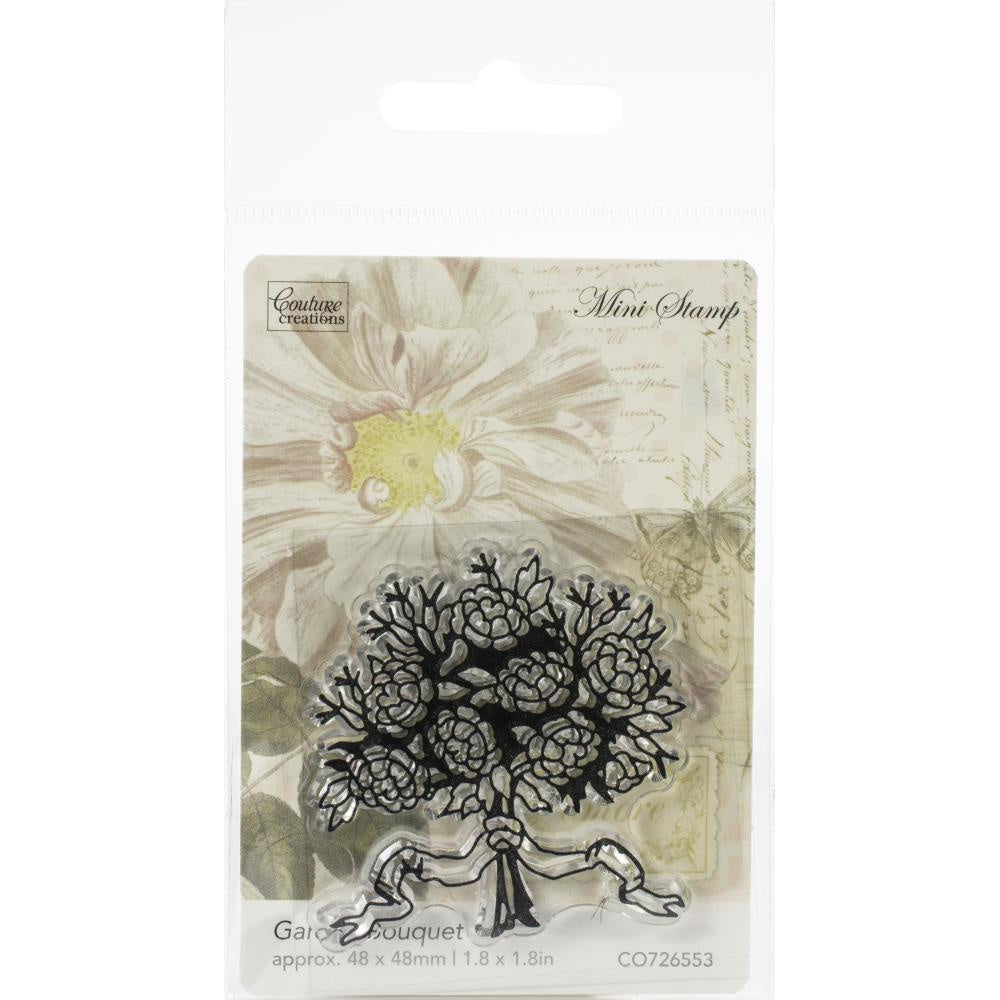 Couture Creations Butterfly Garden Mini Stamp - Garden Bouquet