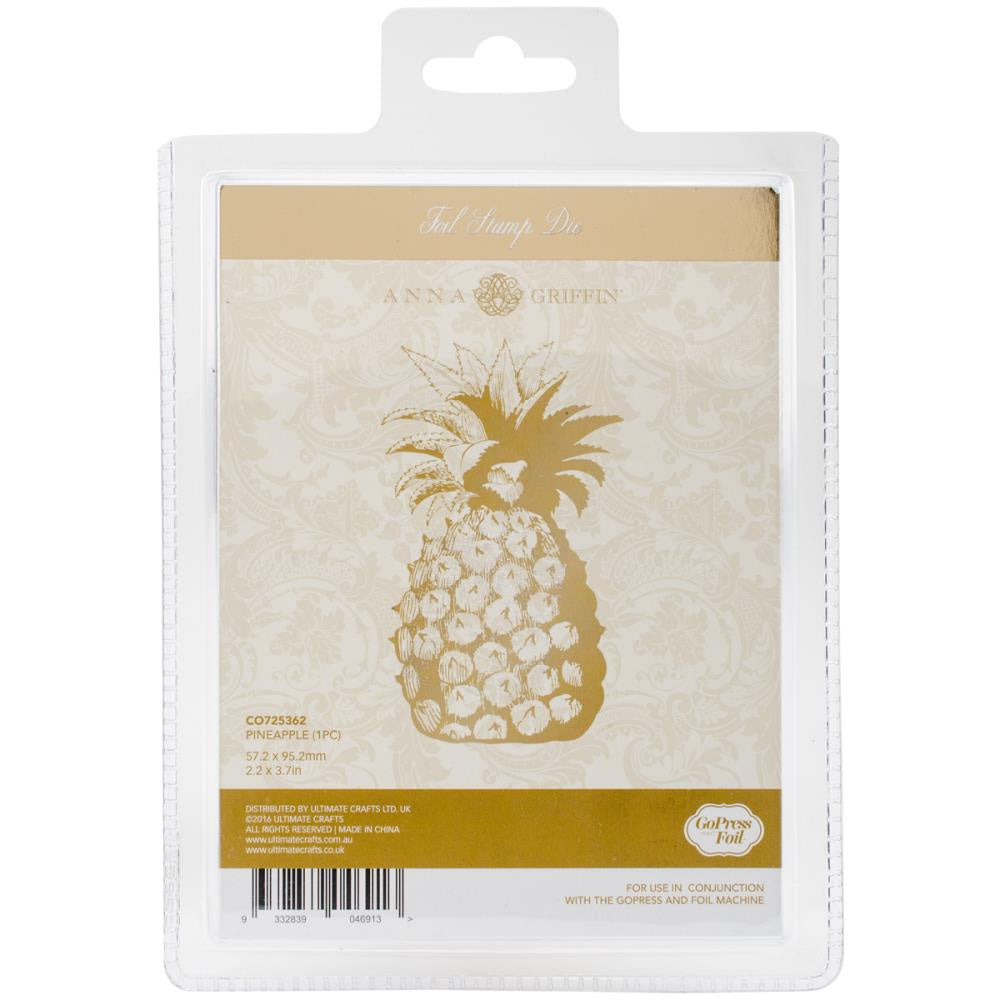 Couture Creations Anna Griffin Hotfoil Stamp - Pineapple