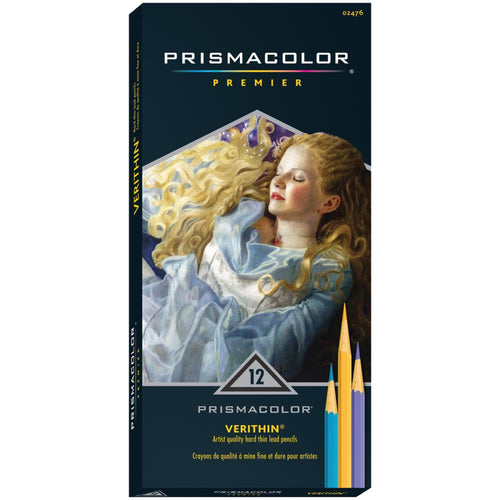 Prismacolor Premier Verithin Colored Pencils - 12/Pkg