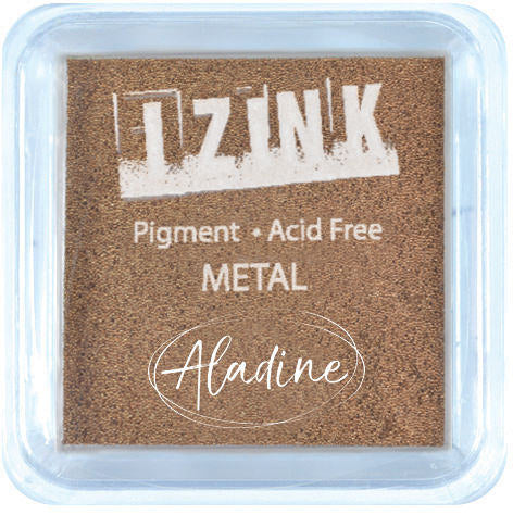 Izink Pigment Large Inkpad - Metal Copper